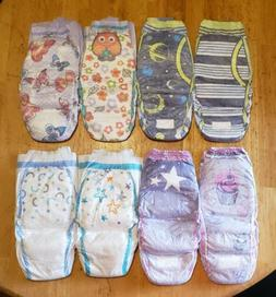 Lot of 4 Adult Baby Diaper Samples. Pullups. Will fit up to