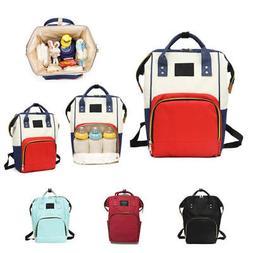Maternity Diaper Bag Mummy Waterproof Travel Backpack Nappy