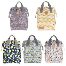 Maternity Diaper Nappy Baby Bag Doodle Print Large Capacity