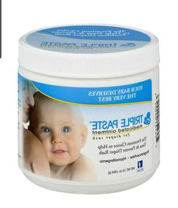 Triple Paste Medicated Ointment for Diaper Rash, 16 Ounce Ex