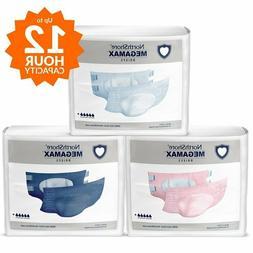 Northshore MegaMax ABDL Diaper Size M 2 pc Sample