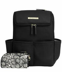 Petunia Pickle Bottom Method Backpack, Black Matte Leatheret