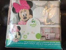 Disney Mickey Mouse 4 Piece Hello World Denim/Star/Icon Nurs