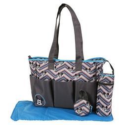 Disney Mickey Mouse Triple Pocket Multi Piece Diaper Bag Set