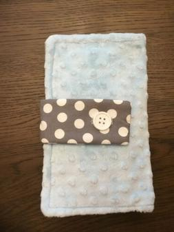 Minky  / Diaper / Baby Wipe / Travel Case Holder
