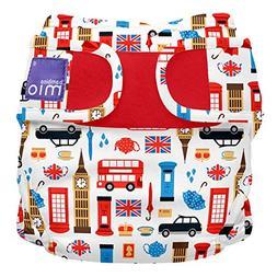 Bambino Mio Miosoft Two-Piece Diaper, Great Britain, Size 1