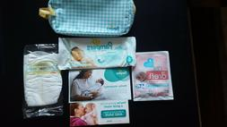Pampers MOM to BE Gift Registry Kit - Bag and Various Baby C