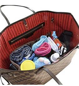 MommyDaddy&Me Diaper Bag Insert Organizer for Stylish Moms,