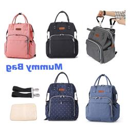 Mummy Changing Backpack Diaper Nappy Changing Bags Multi-fun