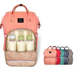 LAND Mummy Maternity Nappy Diaper Bag Large Capacity Baby Ba