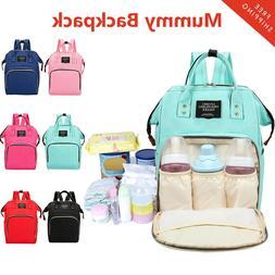 Mummy Maternity Travel Backpack Large Baby Care Nursing Diap