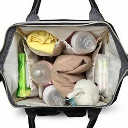 Mummy Mum Maternity Nappy Diaper Bag Large Capacity Baby Tra