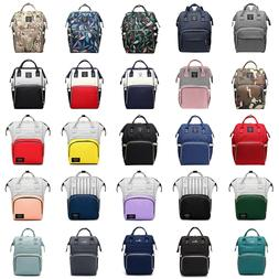LEQUEEN Mummy Portable Maternity Nappy Diaper Bag Large Capa