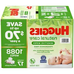 Huggies Natural Care Baby Wipe Refill Refreshing Clean 17 Pa