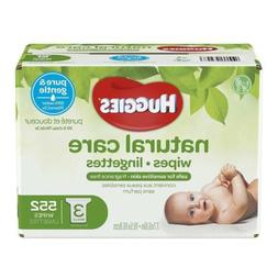 HUGGIES Natural Care Baby Wipes Sensitive Unscented Hypoalle