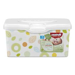 Huggies Natural Care Baby Wipes Unscented White 64/Tub 4 Tub