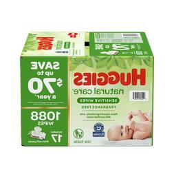 Huggies Natural Care Sensitive Baby Wipe Refill, Fragrance F