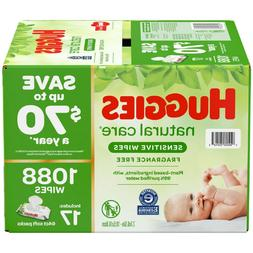 Huggies Natural Care Sensitive Baby Wipe Refill Fragrance Fr
