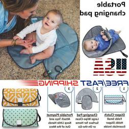 NEW 3 in 1 Portable Clean Hands Changing Baby Pad Diaper Clu