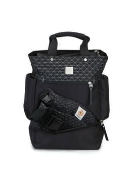 New Ergobaby - Anywhere I Go Backpack Diaper Bag - Black