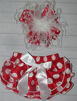 NEW Baby girl 3-24 MONTHS 1st birthday diaper cover bloomer