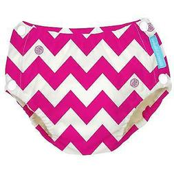 NEW Charlie Banana Baby Reusable Easy Snaps Swim Diaper - Ho