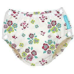 NEW Charlie Banana Baby Reusable Easy Snaps Swim Diaper - Fl