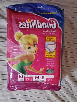 New GoodNites Bedwetting Underwear Diapers Pull-ups Girls S/