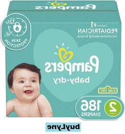 NEW Pampers Baby Dry Disposable Diapers Enormous Pack - Size