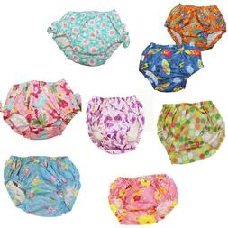 NEW Girl's Boy's Swimming Reusable Diaper Cover Bathing Suit