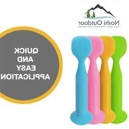 New-Improved Design-Silicone Baby Diaper Rash Cream Brush-Oi
