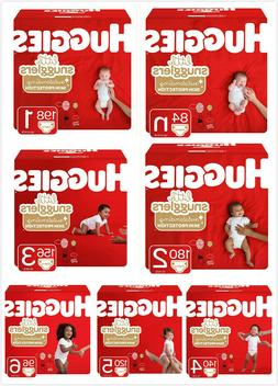 New Huggies Little Snugglers Diapers Size 1 2 3 4 5 6 AVAILA