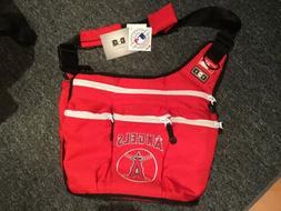 NEW Los Angeles ANGELS Of Anaheim Baseball Diaper Bag For Da