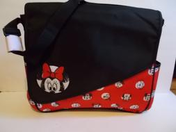 NEW DISNEY MINNIE MOUSE GIRLS DIAPER BAG LARGE & CHANGING PA