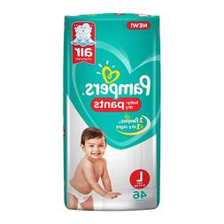 Pampers New Monthly Box Pack Diapers Pants, LARGE 9-14 kg fr