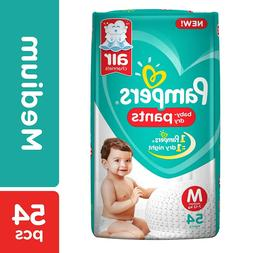 Pampers New Monthly Box Pack Diapers Pants, Medium 7-12 kg f