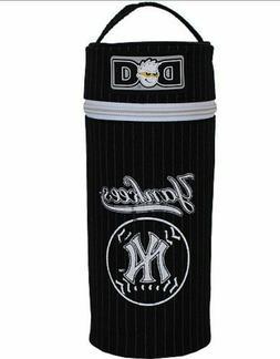 NEW Diaper Dude NY Yankees Baby Bottle Holder Black