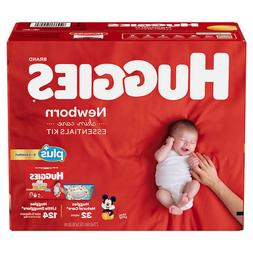 NEW Huggies Plus Diapers Newborn Skin Care Essentials Kit 12
