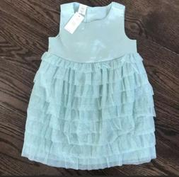 *NEW* Gap Toddler Girl 2T Ruffle Sparkle Dress And Diaper Co