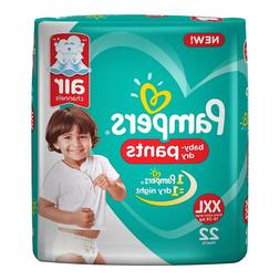 Pampers New XX-Large Size Diapers Pants, 22 Count (free ship