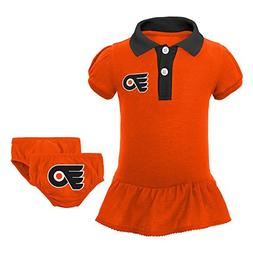 NHL Philadelphia Flyers Newborn & Infant Little Prep Polo &