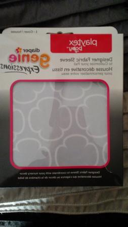 NIB Playtex Diaper Genie Expressions Diaper Pail Fabric Slee