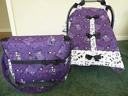 **NIGHTMARE BEFORE CHRISTMAS**Diaper Bag & Handmade baby Car