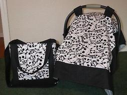 **NIGHTMARE BEFORE CHRISTMAS**w/Jack Car Seat Canopy & Diape