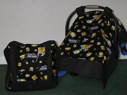 **NINTENDO SUPER MARIO 2 ** Diaper Bag/tote & Car Seat Canop