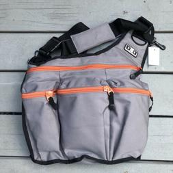 NWT Diaper Dude Charcoal Gray Diaper Messenger Bag 400 with