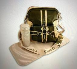 nwt diaper bag backpack convertible tote messenger