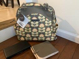 NWT Petunia Pickle Bottom Diaper Bag Backpack Glazed Satchel