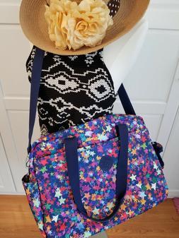 NWT Kipling Popper Printed Large Diaper baby Bag tote