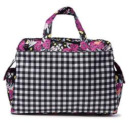 JuJuBe Be Prepared Travel Carry-on/Diaper Bag, Onyx Collecti